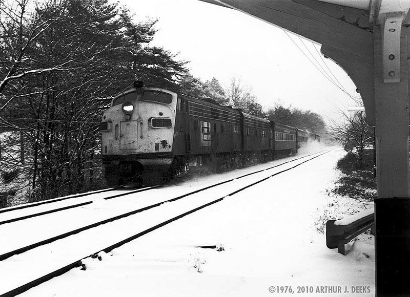 Penn Central Harlem Line Katonah NY