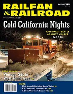 Railfan & Railroad January 2018