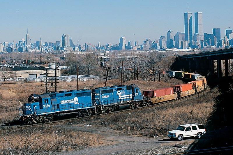 Wiseguys and Wayfreights: Conrail in North Jersey