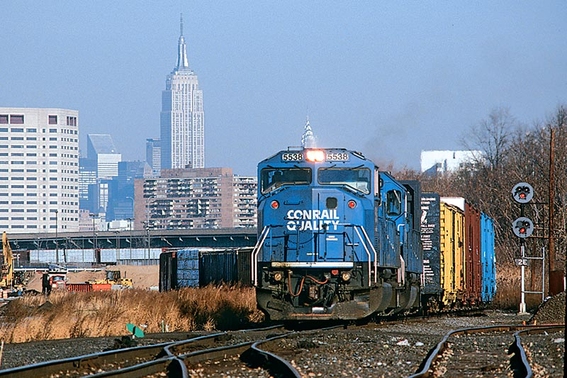 Conrail in North Jersey