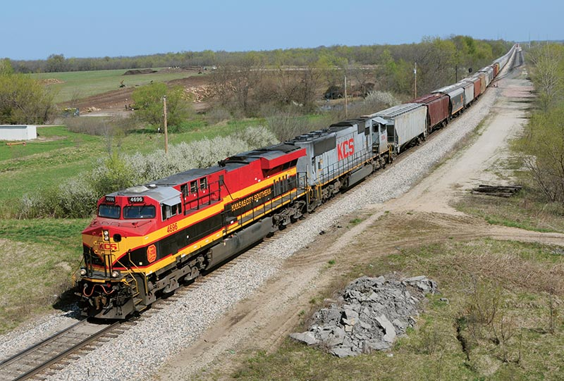 Meandering Along the Kansas City Southern