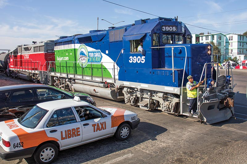 Trains in Tijuana: The Baja California Railroad