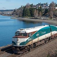 Rails Along Puget Sound