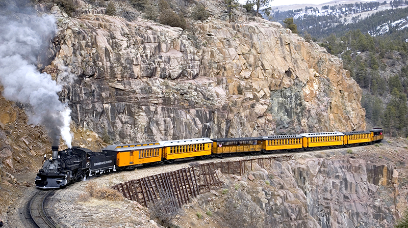 Durango & Silverton Trains Suspended in Wake of Wildfires
