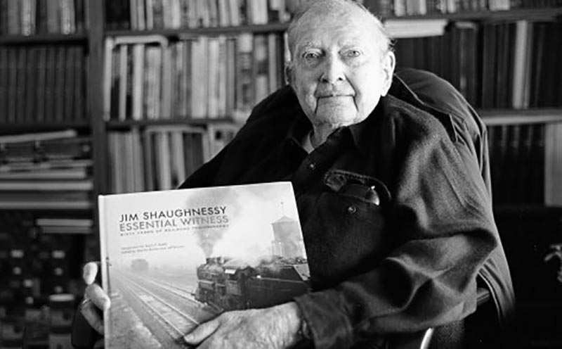 Pioneering Railroad Photographer Jim Shaughnessy Dies at 84
