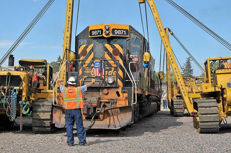 Rio Grande Tunnel Motor Moved to Colorado Railroad Museum