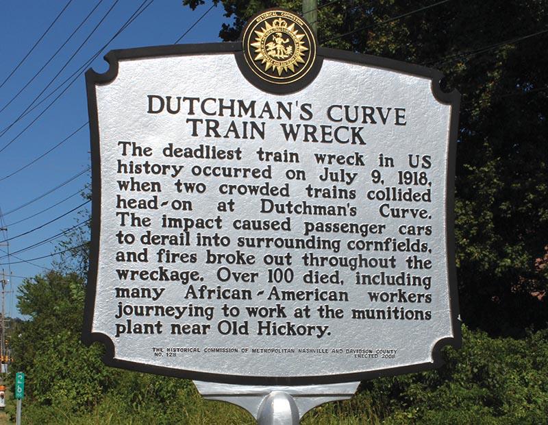 Dutchman's Curve Wreck
