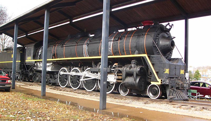Nashville Steam Locomotive Move Planned for January