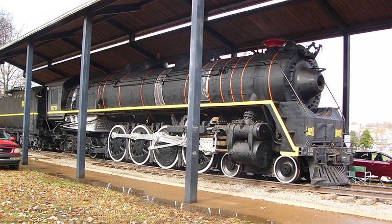 Nashville Steam Locomotive Move Planned for January