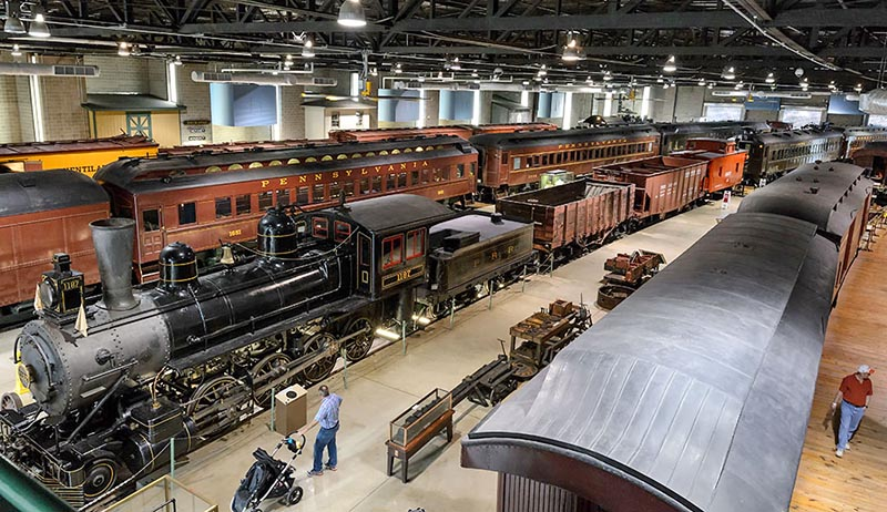 Railfan & Railroad 2019 Heritage Rail Tour of Pennsylvania and Delaware