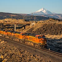 BNSF in the Columbia River Gorge