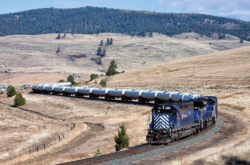 Montana Rail Link Gas Local