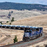 Montana Rail Link's Gas Local
