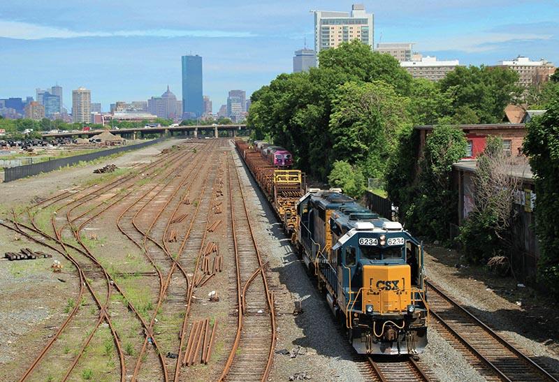 CSX: Leaving Boston