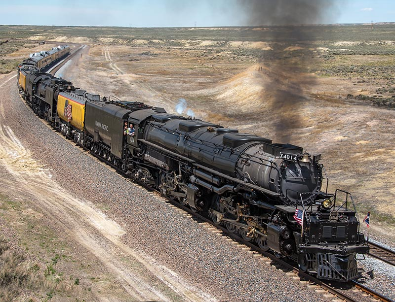 Union Pacific Says 'Big Boy' 4014 to Run in 2021