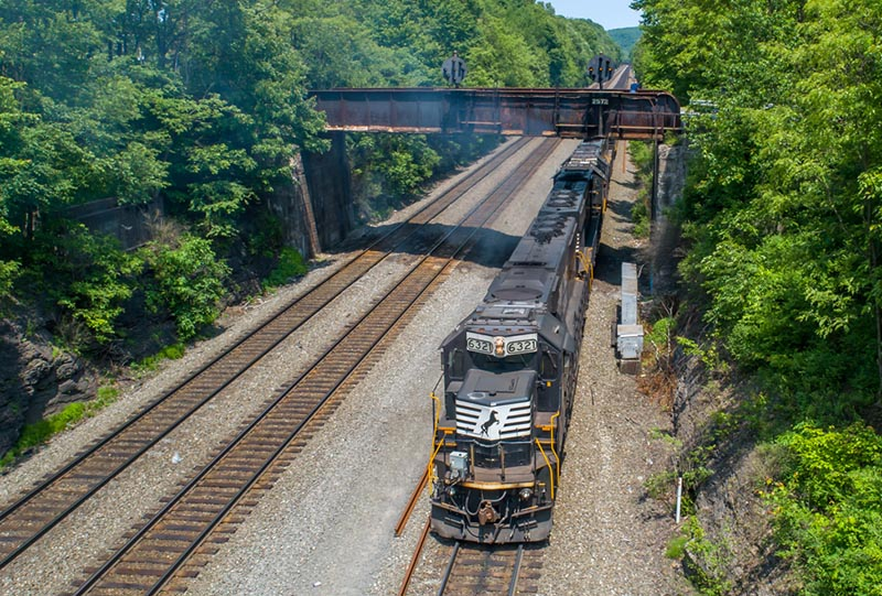 Farewell to Pennsy Position Light Signals - Railfan