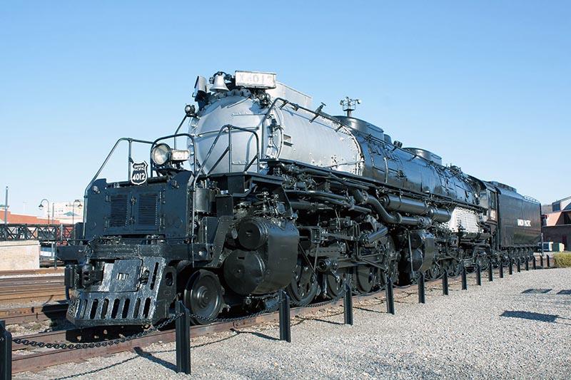 Steamtown Begins Cosmetic Restoration of Big Boy 4012