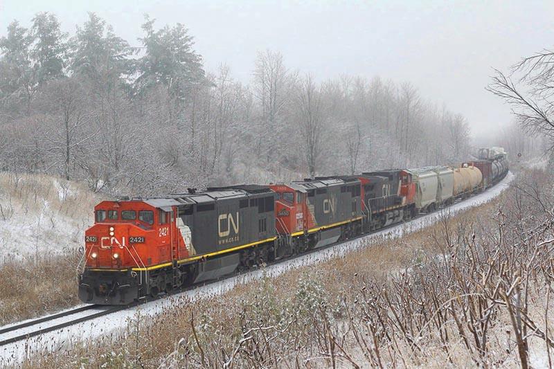 Changing Seasons on the Halton Subdivision