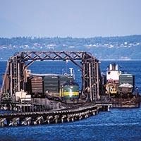 Railroads and The Sea