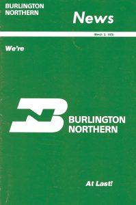Burlington Northern News 1970