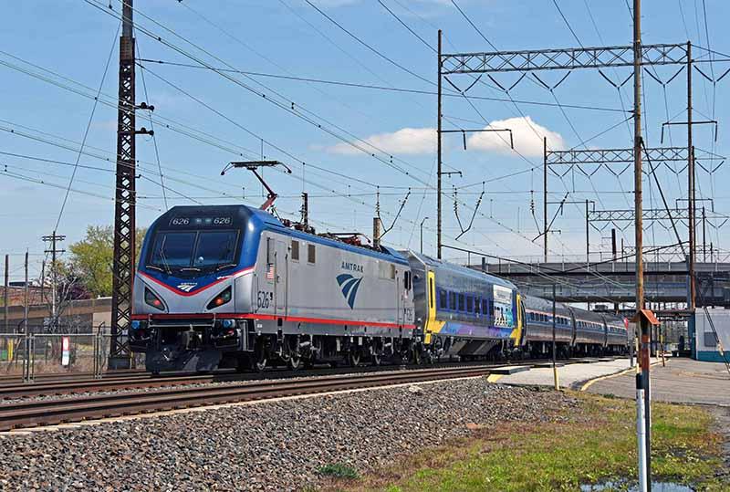 Amtrak Tests New Siemens Passenger Equipment on Northeast Corridor