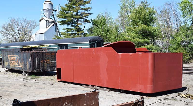 New Tender Arrives for Maine Central 470