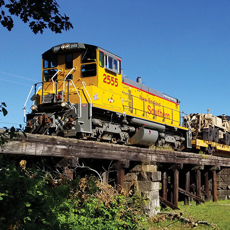Vermont Rail System to Purchase New England Southern