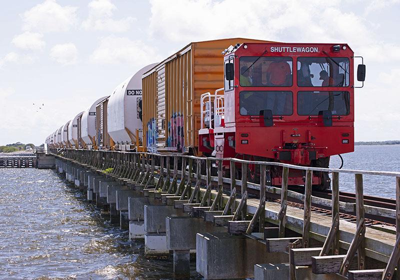 NASA's Rocket Railroad is Back