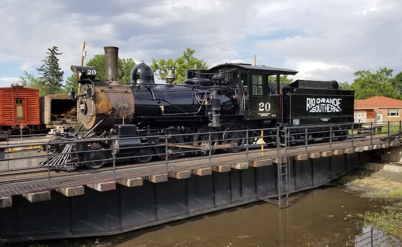 Colorado Museum Finishes Restoration of Rio Grande Southern 20