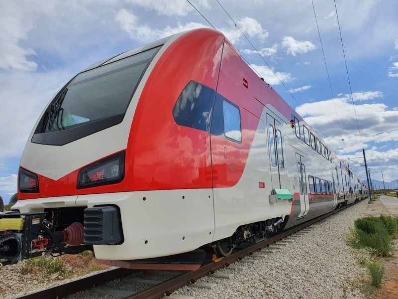 First Caltrain Electric Built in Utah