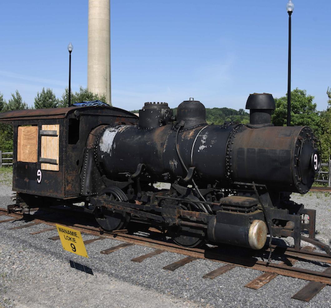 Mining Steam Locomotive Back Home in Pennsylvania