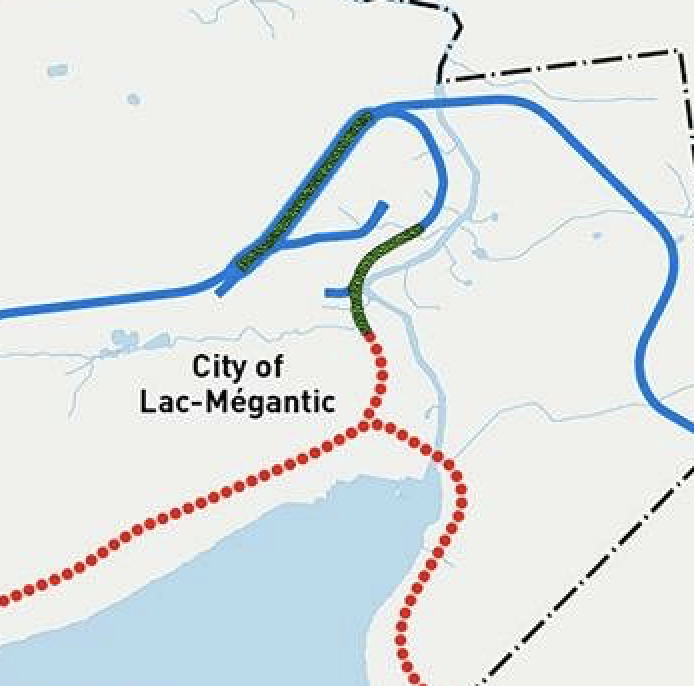 Quebec Announces Lac-Mégantic Bypass Construction to Begin Next Year