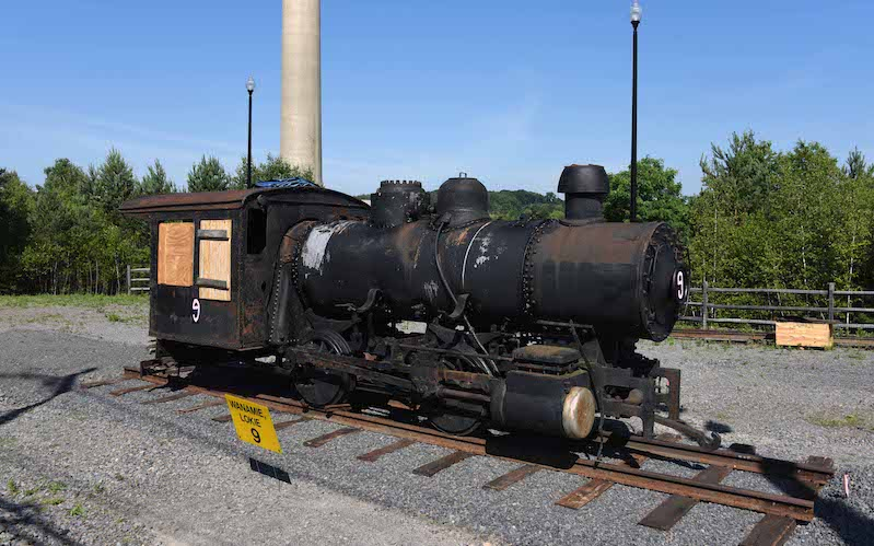 Mining Steam Locomotive Back Home in Pennsylvania