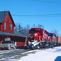 Canadian Pacific Comes Full Circle in Maine