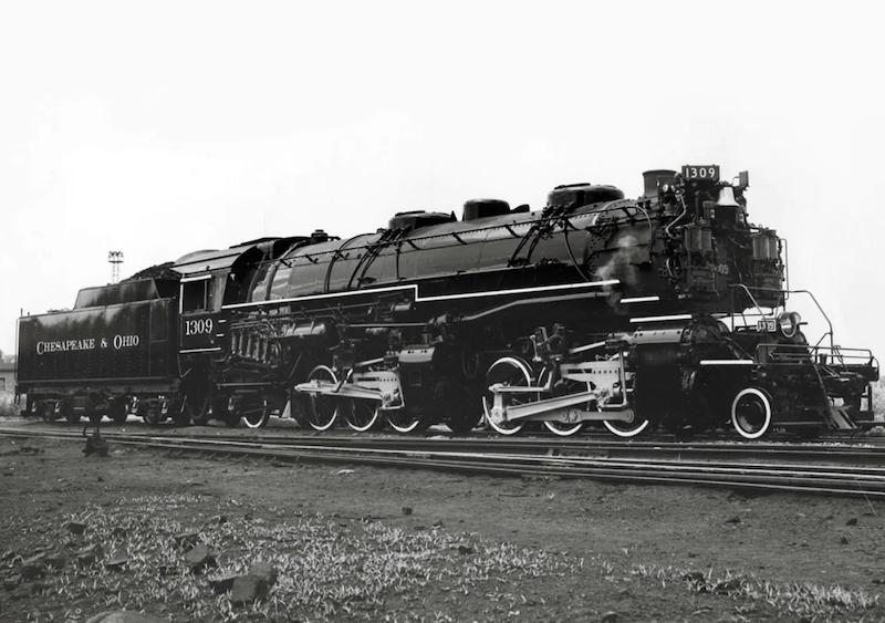 Rail Heritage Trust Donates $50,000 to WMSR 1309 Restoration