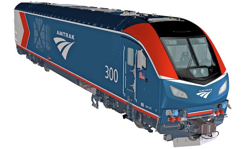 Amtrak Unveils New Paint Scheme for Long-Distance Chargers