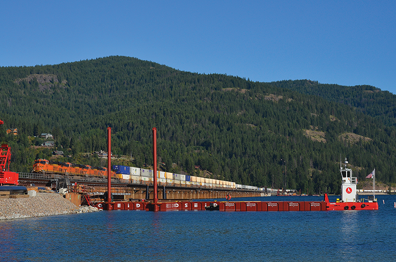 BNSF Begins Work on New Bridge to Unclog Idaho Bottleneck