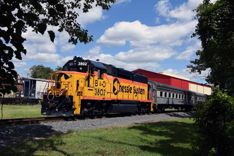 B&O Museum Puts on Historic Diesel Parade