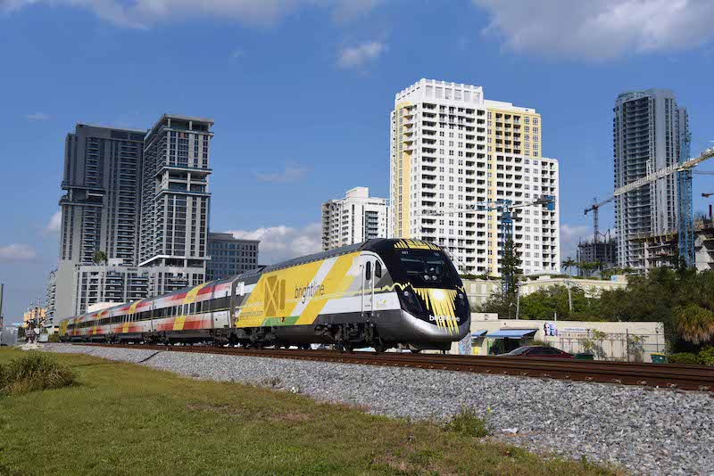 Brightline's Miami to Orlando Main Line Half Done
