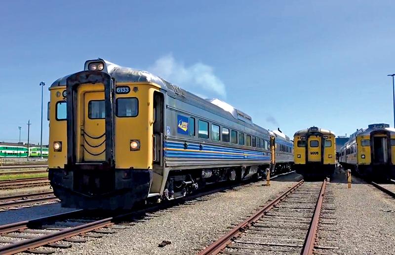 Rapido Trains Buys Four VIA Budd RDCs