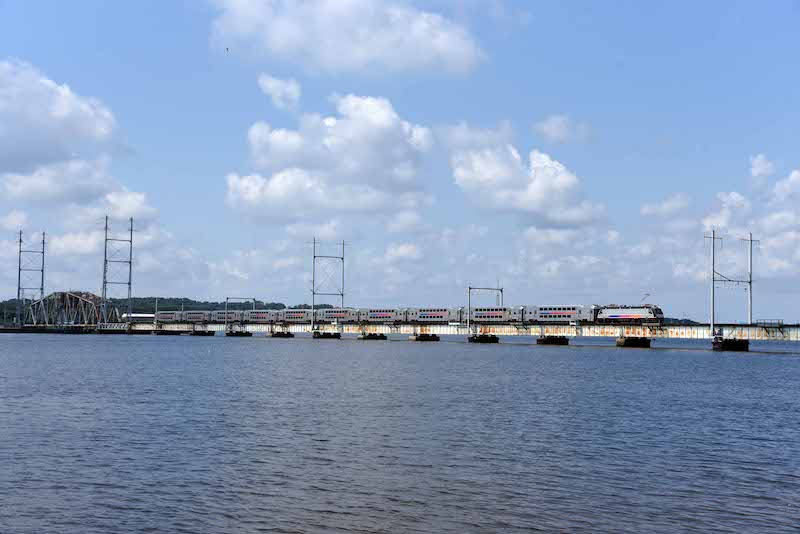 NJ Transit Starts Building New Bridge Across Raritan Bay