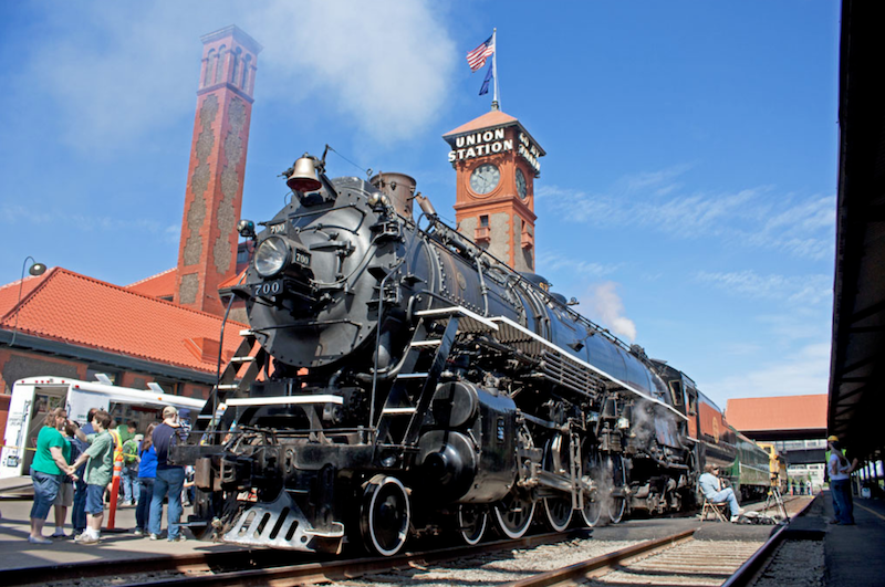 Rail Heritage Trust Awards $35,000 Grant to SP&S 700