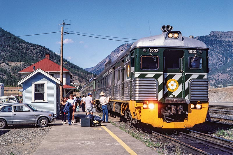 A Tear in My Eye: BC Rail Budd Cars