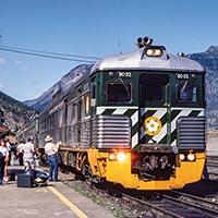 A Tear in My Eye: BC Rail Budd Cars