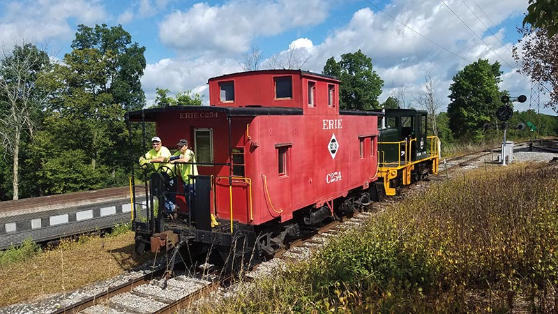 The Original Mobile Office: The Caboose