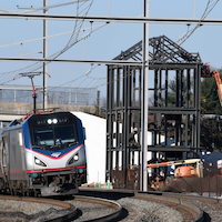 Construction Underway for Long Awaited Amtrak Station
