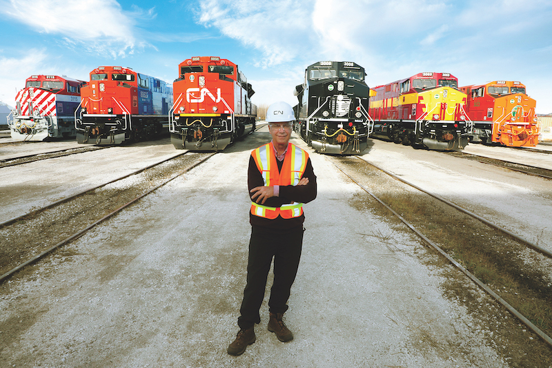 Canadian National Puts New Heritage Units into Service