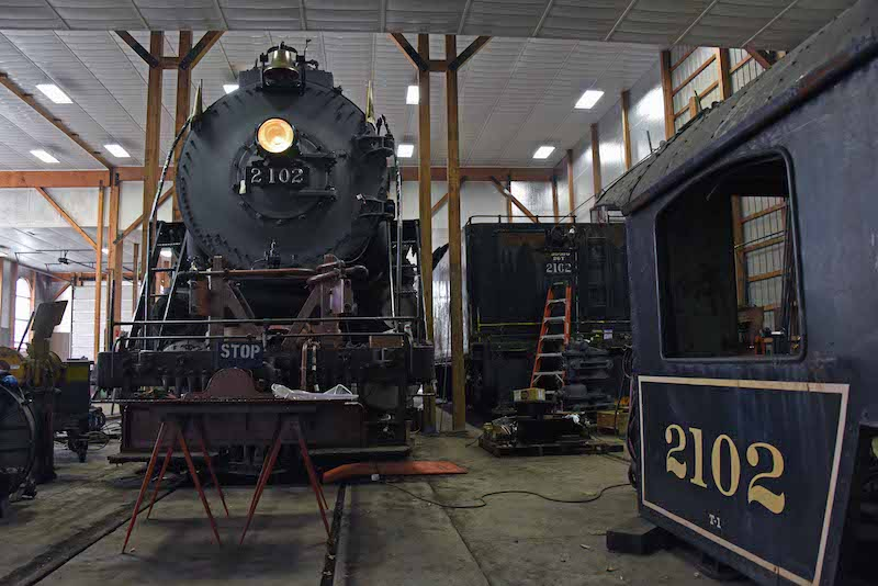 Reading & Northern 4-8-4 on Track to Steam Next Year