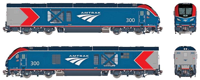 Amtrak Phase 6