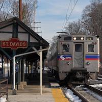 Historic Pennsy Keystone Added to SEPTA Station